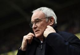 """C. Ranieri atskleidė, kokius tikslus prieš sezoną jam iškėlė """"Leicester"""" savininkas"""