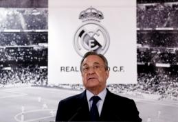 """Madrido """"Real"""" gerbėjai padavė į teismą F. Perezą"""