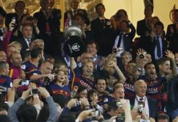"""Pratęsime geresnę ištvermę parodžiusi """"Barca"""" apgynė Karaliaus taurės titulą (VIDEO, FOTO)"""