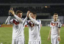 EURO 2016 sudėtį paskelbė ir Vokietija