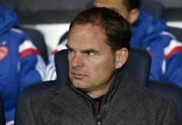"""Sutartį su """"Ajax"""" nutraukęs F. de Boeris - arti atvykimo į """"Everton"""""""