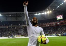 """""""West Ham"""" pateikė pasiūlymą už A. Lacazette'ą"""