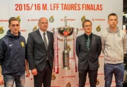 """LFF taurės finale """"Žalgirio"""" seriją sieks nutraukti debiutantai """"Trakai"""""""