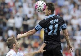 """M. Klose po sezono paliks """"Lazio"""" ekipą"""