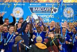 """Titulą atsiėmęs """"Leicester"""" savo sirgalius pradžiugino pergale prieš """"Everton"""" (VIDEO, FOTO)"""