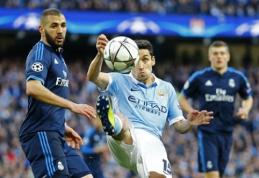 """K. Benzema ir Casemiro praleis rungtynes su """"Man City"""""""