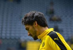 """""""Borussia"""" fanų rūstybę užsitraukęs M. Hummelsas: jokio pokalbio apie pardavimą nebuvo (FOTO)"""
