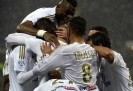 """Ligue 1: svarbias pergales iškovoję """"Lyon"""" bei """"Monaco"""" nutolo nuo persekiotojų (VIDEO)"""