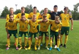 Baltijos taurės starte - Lietuvos ir Suomijos U-17 rinktinių lygiosios