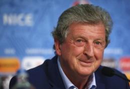 R. Hodgsonas: esame favoritai, bet Islandija turi pavydėtiną charakterį