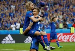 Visame pasaulyje išgarsėjęs Islandijos komentatorius neteko darbo (VIDEO)