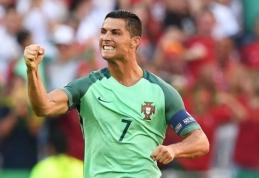 """C. Ronaldo rungtynėse su Vengrija """"laužė"""" Europos čempionato rekordus"""