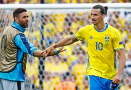 Švedijos rinktinės gerbėjai braukia ašaras - Ibra daugiau ekipai neatstovaus