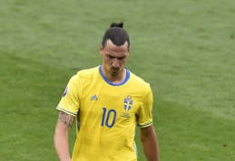 Švedijos rinktinės puolimas pasiekė Europos čempionato antirekordą