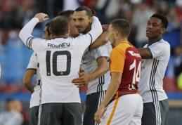 """Z. Ibrahimovičiaus debiutas: puikus įvartis jau 4-ąją minutę ir """"United"""" pergalė (VIDEO)"""