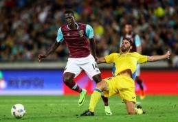 """Europos lygos atrankoje - """"West Ham"""" pralaimėjimas slovėnams"""