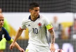 """""""Marca"""": į kovą dėl J. Rodriguezo ketina stoti """"West Ham"""""""