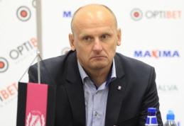 """Oficialu: V. Urbonas traukiasi iš """"Trakų"""" trenerio pareigų"""