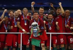Nuostabus Ederio įvartis atvedė Portugalijos rinktinę į istorinę pergalę Europos čempionate (VIDEO, FOTO)