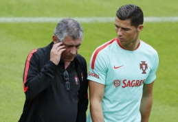 F. Santosas: C. Ronaldo - gimęs nugalėti