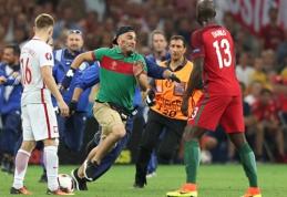 Rungtynes sustabdęs C.Ronaldo gerbėjas turės mokėti didelę baudą