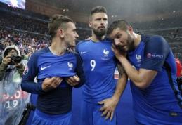 """""""EURO 2016"""" favoritai laimėti """"auksinį batelį"""" - prancūzai (straipsnis)"""