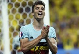 Oficialu: Belgijos rinktinėje sužibęs T. Meunier keliasi į PSG