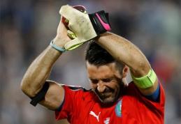 """G.Buffonas: """"Tai pats žiauriausias iškritimas iš čempionatų"""""""