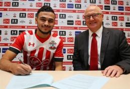 """Oficialu: """"Southampton"""" už rekordinę klubui sumą įsigijo """"Lille"""" žvaigždę"""