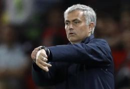 J. Mourinho: laukia rami savaitė
