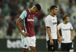 """""""West Ham"""" antrus metus iš eilės krito prieš """"Astra"""", Ž. Karčemarsko klubas žais EL grupių etape (VIDEO)"""