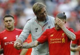 """Ką """"Liverpool"""" darys su kairiojo krašto gynėjo pozicija? (išsamus J. Kloppo komentaras)"""