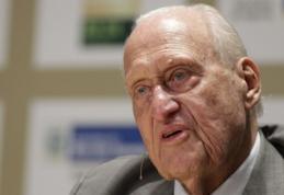 Mirė buvęs FIFA prezidentas J. Havelange