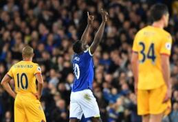 """Puikaus R. Lukaku įvarčio nepakako - """"Crystal Palace"""" išplėšė lygiąsias prieš """"Everton"""" (VIDEO)"""
