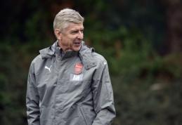 A. Wengeras - tarp kandidatų stoti prie Anglijos rinktinės trenerio vairo