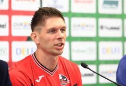 T.Radzinevičius: norime parvežti LFF taurę į Marijampolę (komentarai)