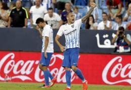 """""""Malaga"""" šventė pirmąją pergalę, Sevilijos derbyje - """"Sevilla"""" pergalė (VIDEO)"""