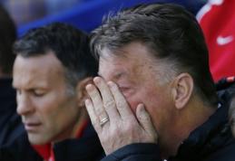 """""""Man Utd"""" sumokės 8,4 mln. svarų kompensaciją L. van Gaalui ir jo asistentams"""