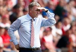"""D.Moyesas: """"Su """"Everton"""" vos nelaimėjau """"Premier"""" lygos"""""""