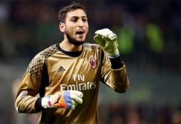 """Fantastiškas G.Donnarummos šuolis išgelbėjo """"Milan"""" klubą (VIDEO)"""
