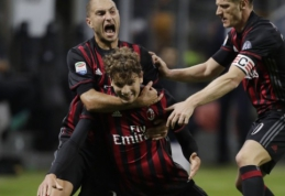 """Puikus aštuoniolikmečio šūvis antrąkart šį sezoną parklupė """"Juventus"""" (FOTO, VIDEO)"""