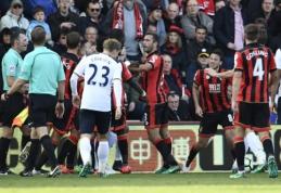 """""""Tottenham"""" išvykoje nepalaužė """"Bournemouth"""" ekipos (VIDEO)"""