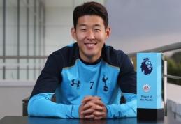 """Geriausias rugsėjo mėnesio """"Premier"""" lygos žaidėjas - """"Tottenham"""" snaiperis Sonas"""
