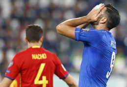 Italijos futbolo vadovas: G. Pelle nusipelnė būti pašalintas iš rinktinės