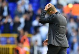 P. Guardiola: nuo pat pradžių jutau, kad šiose rungtynėse nežaisime gerai