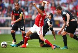 """""""Bayern"""" prarado pirmuosius taškus Vokietijoje, """"Borussia"""" pralaimėjo prieš """"Bayer"""" (VIDEO)"""