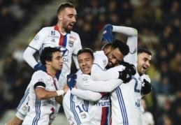 """Prancūzijoje pergales šventė PSG, """"Nice"""" ir """"Lyon"""" (VIDEO)"""