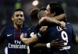 """""""Nice"""" prarado taškus bei leido priartėti """"Lyon"""" įveikusiam PSG (VIDEO)"""