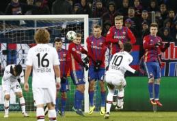 """Čempionų lyga: CSKA namuose išplėšė lygiąsias prieš """"Bayer"""" (VIDEO)"""