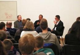 """""""Stumbro"""" treneris stebėjo filmą apie C. Ronaldo ir dalyvavo viešoje diskusijoje"""